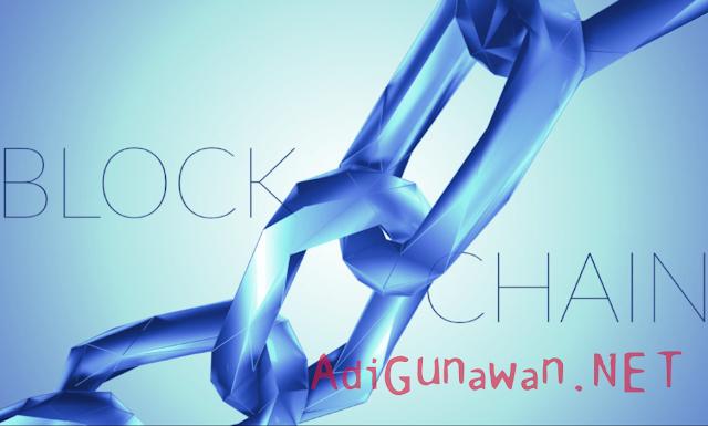 platform perdagangan finansial berbasis jaringan blockchain