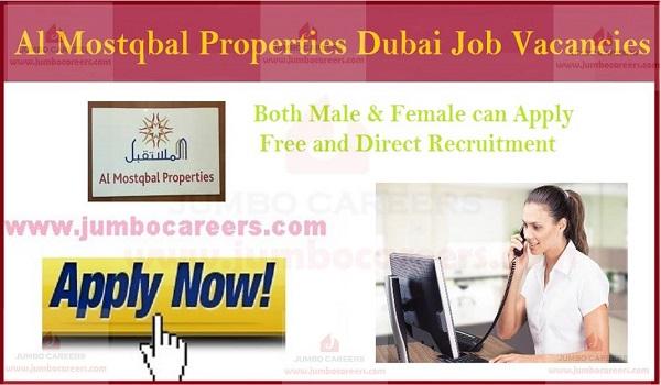 Urgent receptionist jobs in Dubai, Latest job openings in UAE,