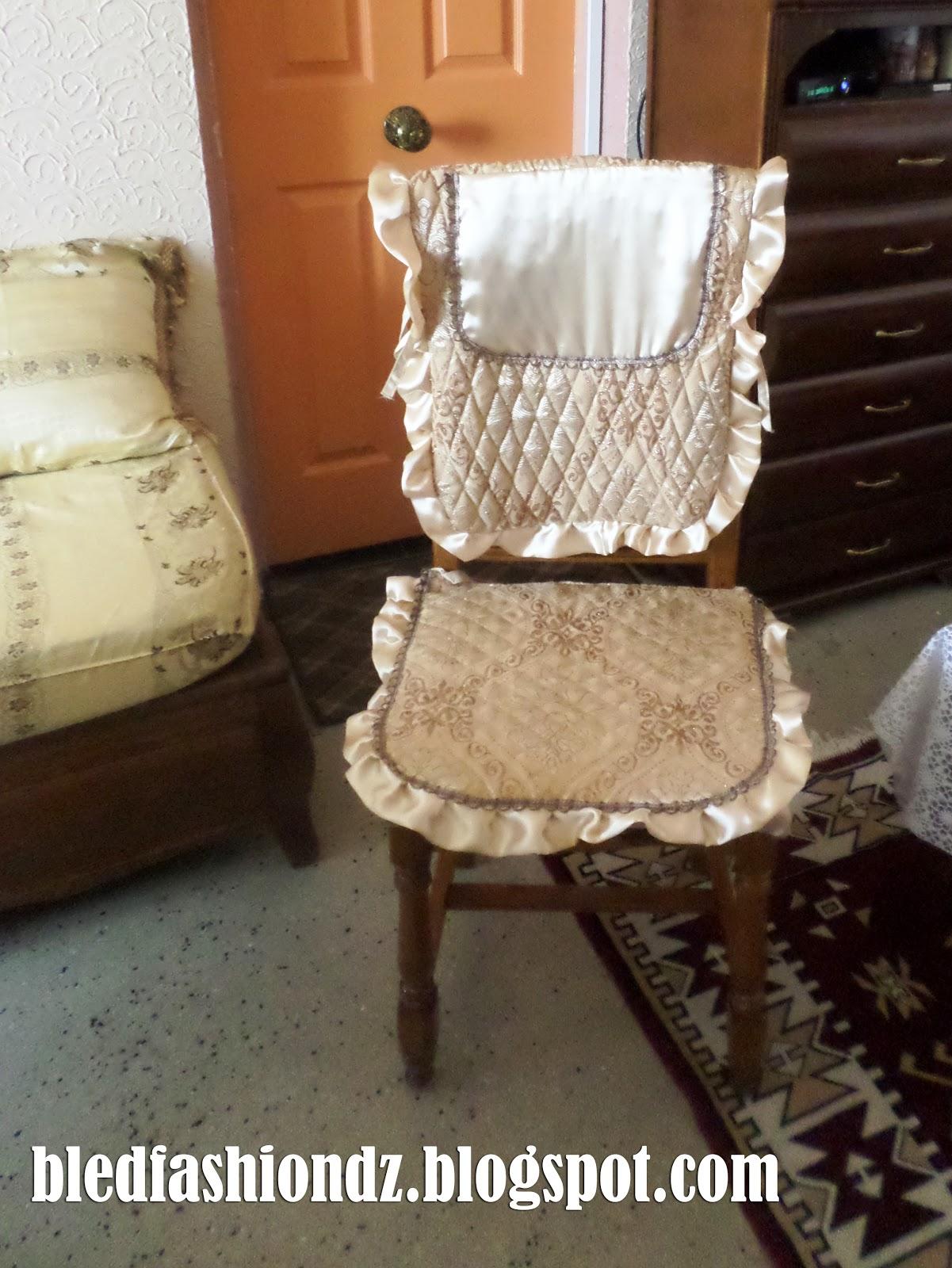 la mode alg rienne couvre chaise. Black Bedroom Furniture Sets. Home Design Ideas