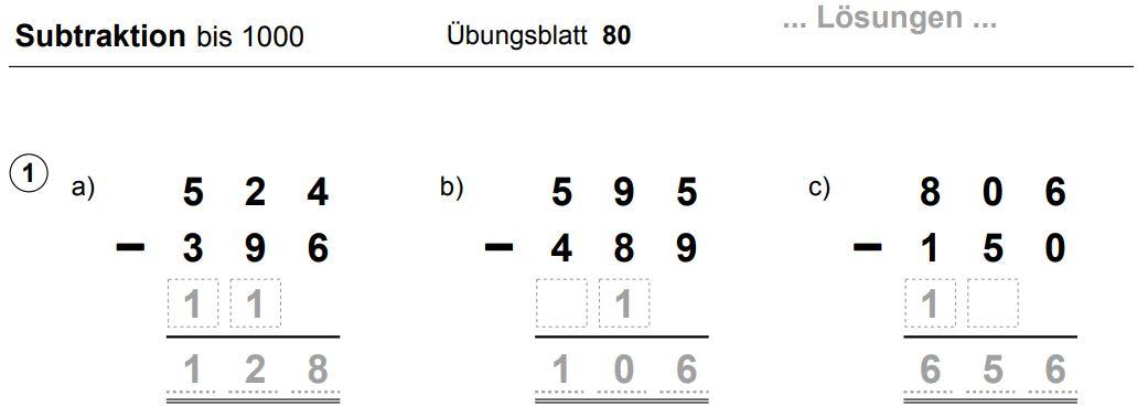 SCHÜLERCLUB Dornbirn: [ #mathematik ] Schriftlich üben ...
