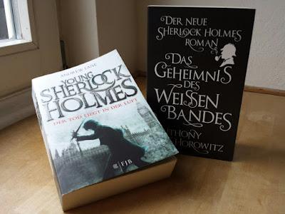 Young Sherlock Holmes von Andrew Lane, Das Geheimnis des weissen Bandes von Anthony Horowitz