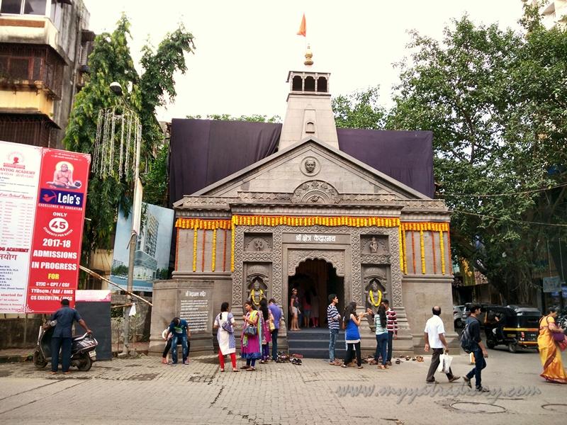 Thematic Uttarakhand Kedarnath temple Ganesha, Ganesh Pandal Hopping Mumbai