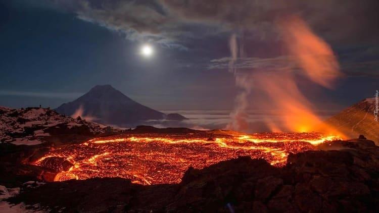 Resultado de imagen de Una gigantesca erupción en Siberia está en el origen de la mayor extinción de la historia de la Tierra
