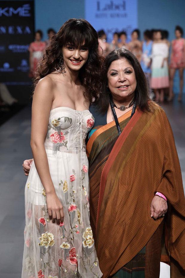 Disha Patani at Lakme Fashion Week 2017 In Mumbai