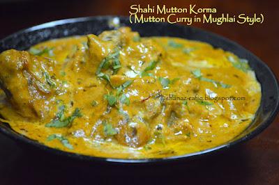 Mughlai Mutton Curry