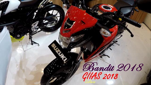 Spesifikasi Suzuki Bandit 150 2018