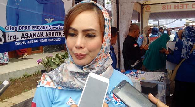drg. Asanah Ardita Siap Perjuangkan Layanan BPJS Kesehatan Gratis