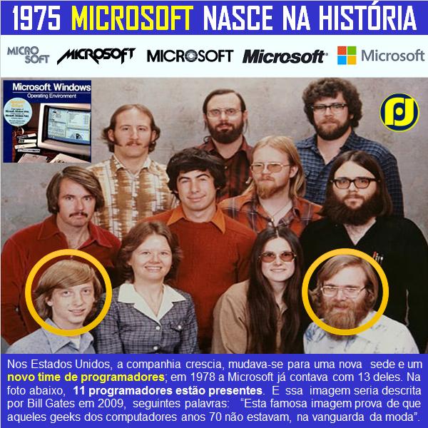 1975–1981: Nasce a Microsoft