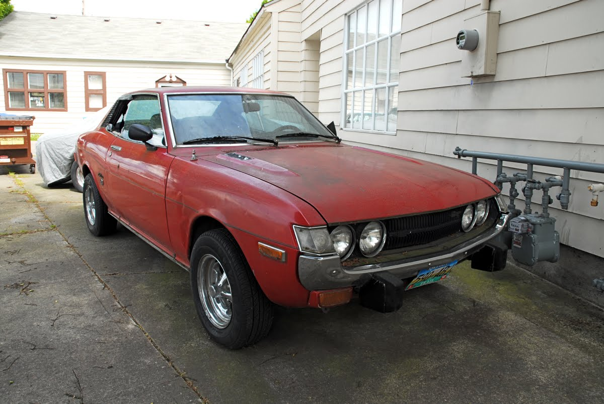 Old Parked Cars 1973 Toyota Celica St Gt Related Posts