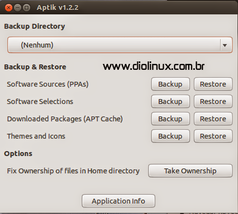 Aptik - Backups no Ubuntu