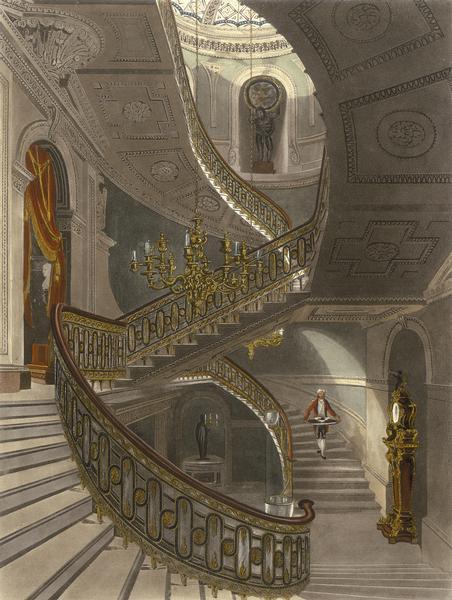 Mansion Floor Plans Carlton Palace House London England