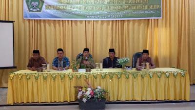 Kemenag Tanjungbalai Gelar Acara Pembinaan ORMAS Faham/Aliran Bermasalah Zona II
