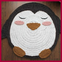 Alfombra pingüino