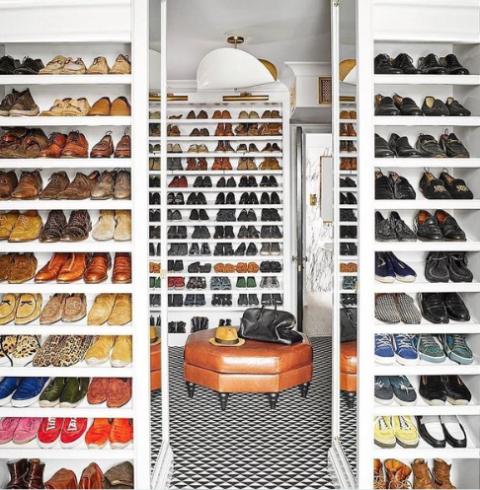 Nate Berkus  luxury fantasy closet