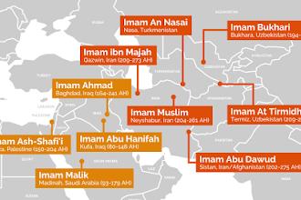 Tempat Lahir 4 Imam Fiqih dan 6 Ulama Ahli Hadis
