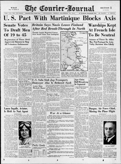 Louisville Courier-Journal, 19 December 1941 worldwartwo.filminspector.com