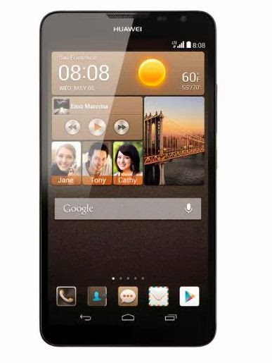 Huawei, Huawei Ascend Mate, phablet, ponsel, smartphone, android, ponsel android terbaru, hp android terbaru