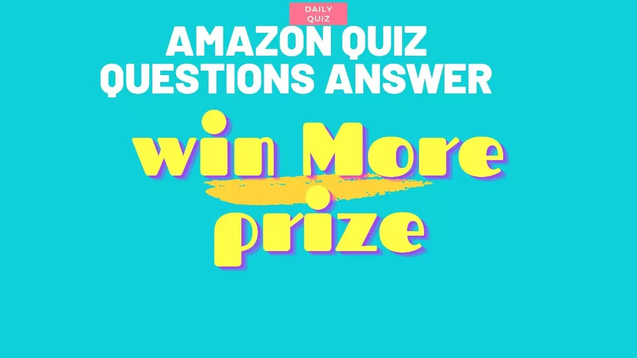 Daily Amazon Quiz