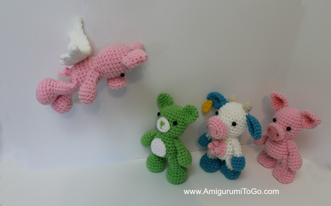 Amigurumi Disney Princess Pattern : Pattern Updates and Flying Pigs ~ Amigurumi To Go