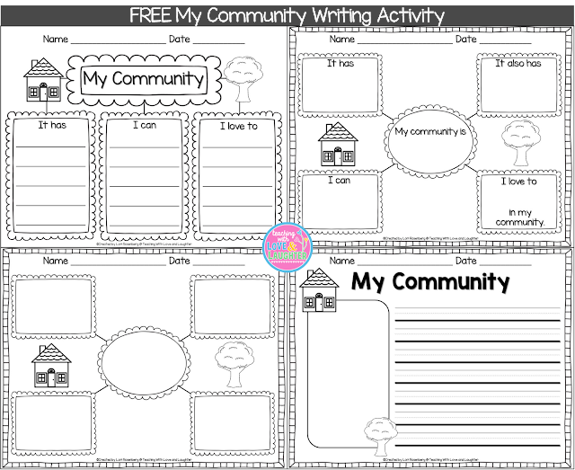 Teaching With Love and Laughter: My Community Writing Freebie