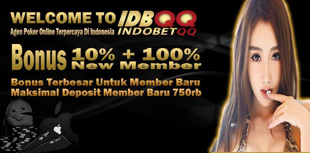 Bonus New Member 10% + 100% Promo Situs IDBQQ