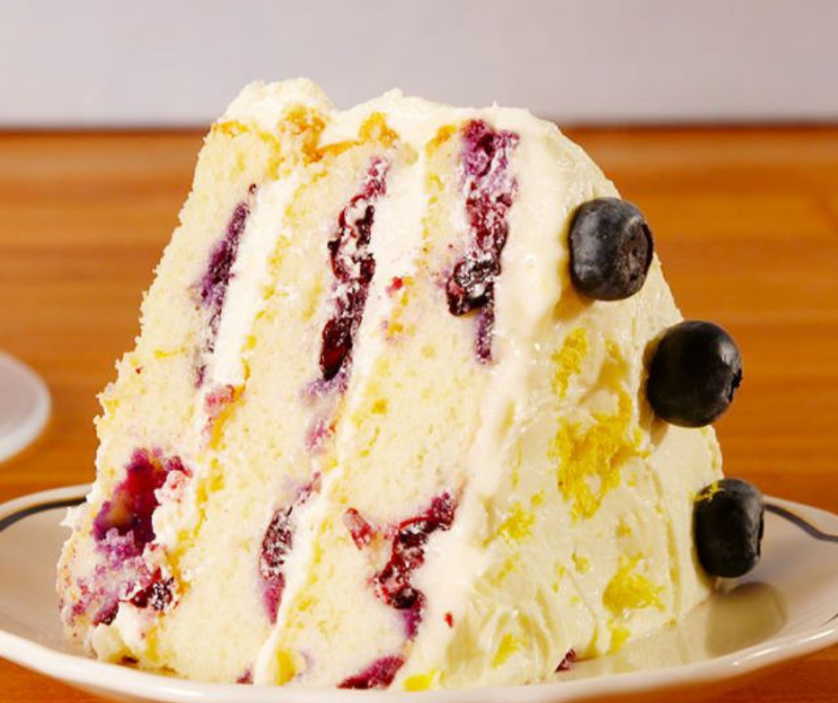 Lemon Blueberry Cake - food-drink-recipes.com