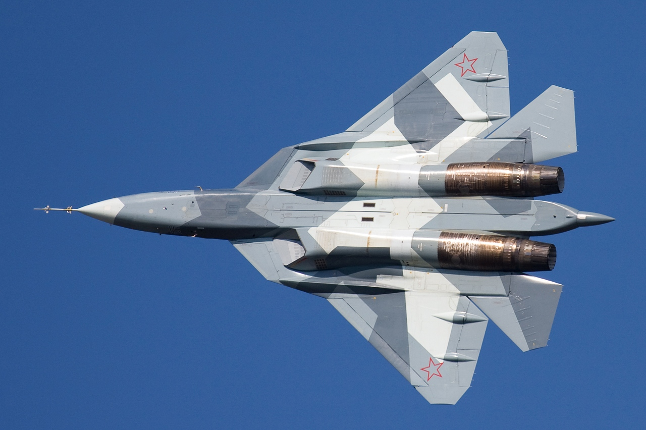 Sukhoi PAKFA T50 Russian Air Force Aircraft Wallpaper 2526
