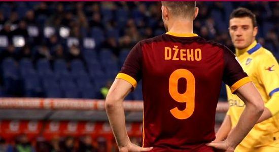 Calciomercato Roma: Dzeko nessun contatto con l'Inter, resta alla Roma. A cura di Carlo Sacchetti