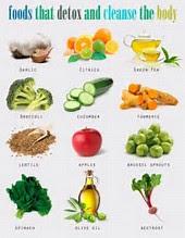 Foods that aid detoxification