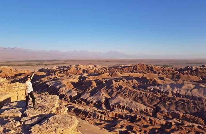 Principais passeios no Atacama: 1 Valle de La Luna e de La Muerte