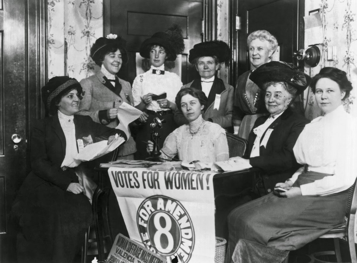 Historical Photos Of Women Voting Throughout The Years