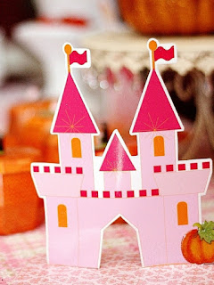 Pumpkin princess birthday party