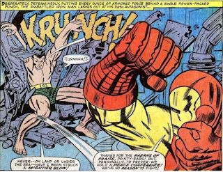 Tales to Astonish #82 SubMariner Iron Man