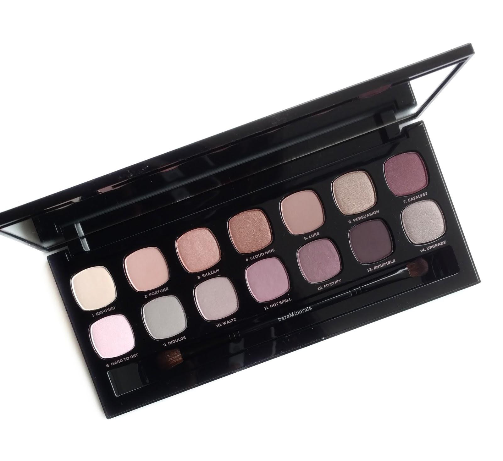 bare minerals bare sensuals eyeshadow palette