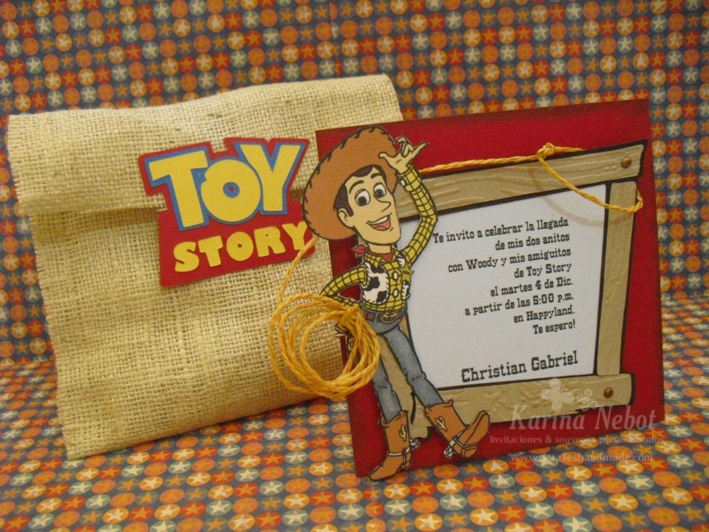 Karina Nebot Woody Toy Story