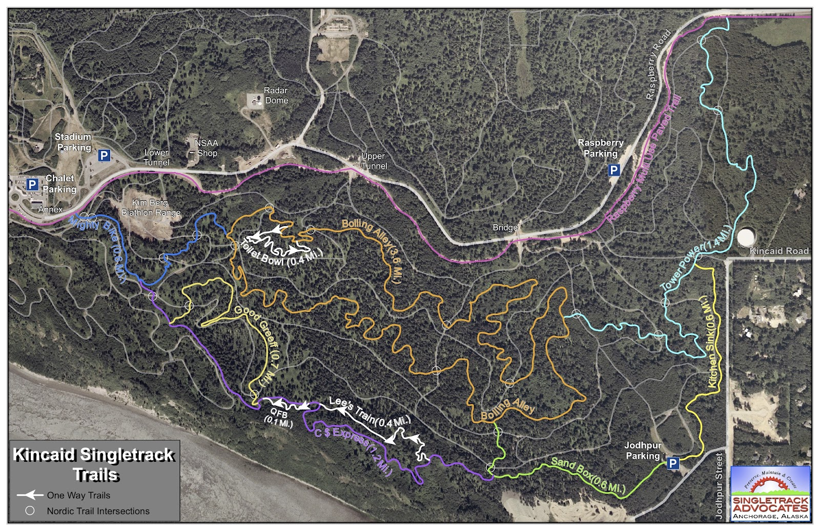 Single trail park brilon