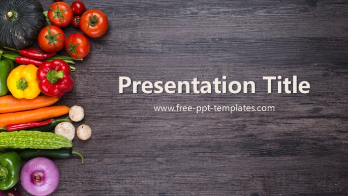 Organic food ppt template toneelgroepblik Images