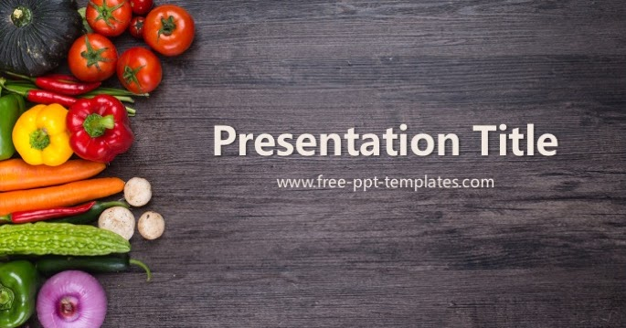 organic food ppt template