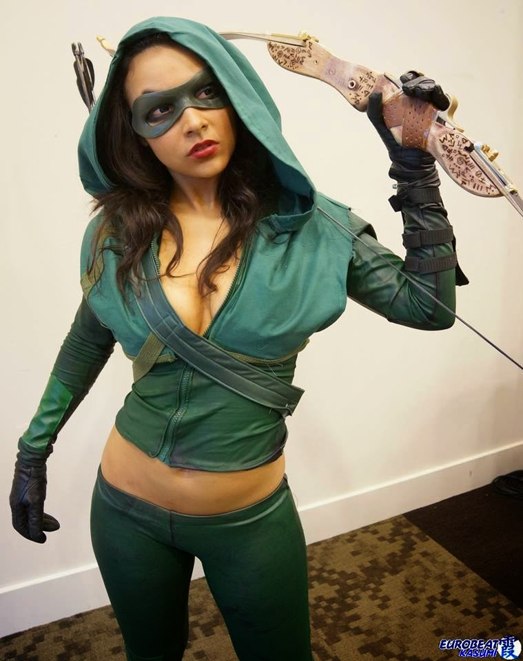 Arrow sexy cosplay by Soni Aralynn