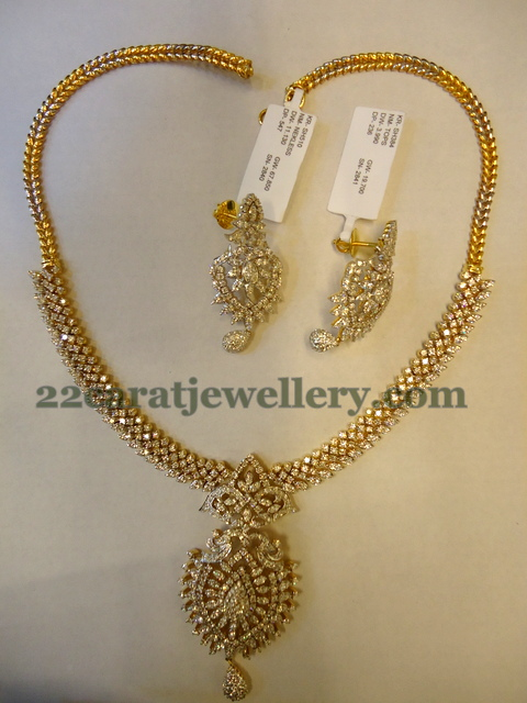 Diamond Necklace For Wedding