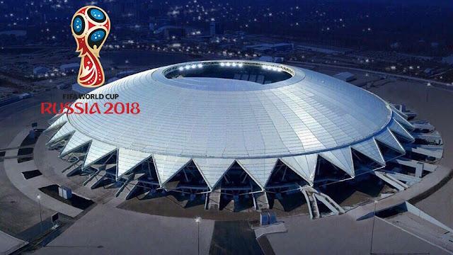 Inilah Lima Stadion Megah Yang Digunakan Dalam Piala Dunia 2018