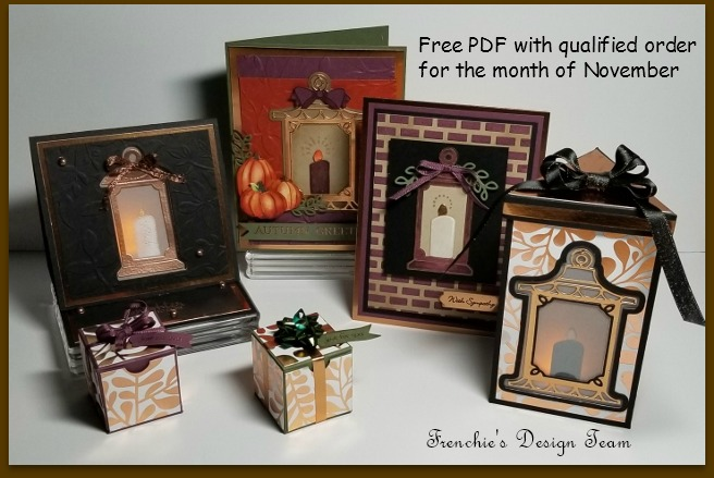 Seasonal Lantern, Frenchie's Customer Appreciation, Project Sheet, Stampin'Up!