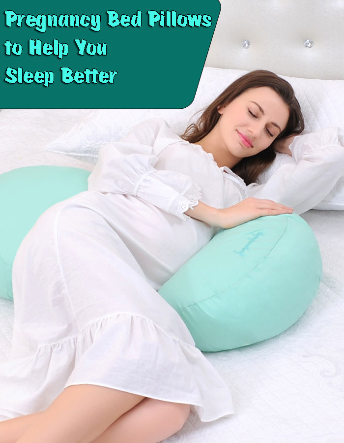 Pregnancy Bed Pillows to Help You Sleep Better