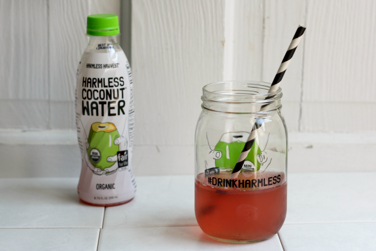 Harmless Harvest coconut water review