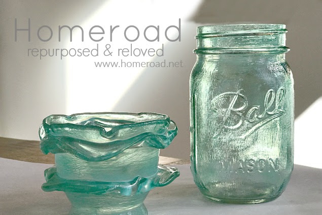 How to Make Frosted Mason Jars