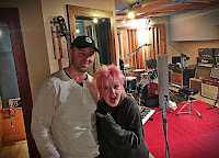 Cyndi Lauper James Walsh Threshold Recording Studios NYC