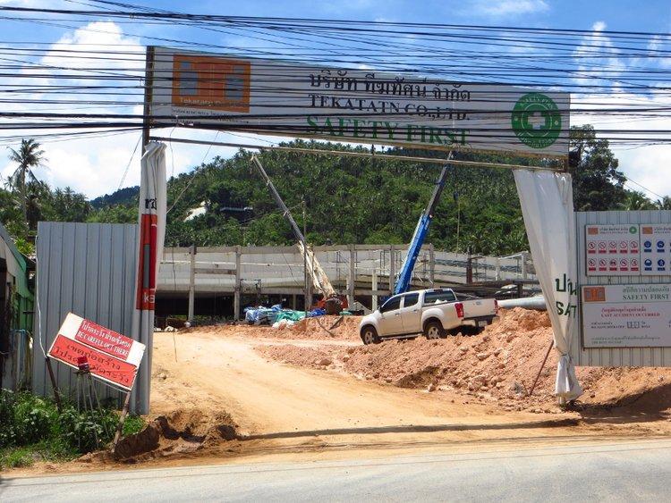 Строительство супермаркета Макро