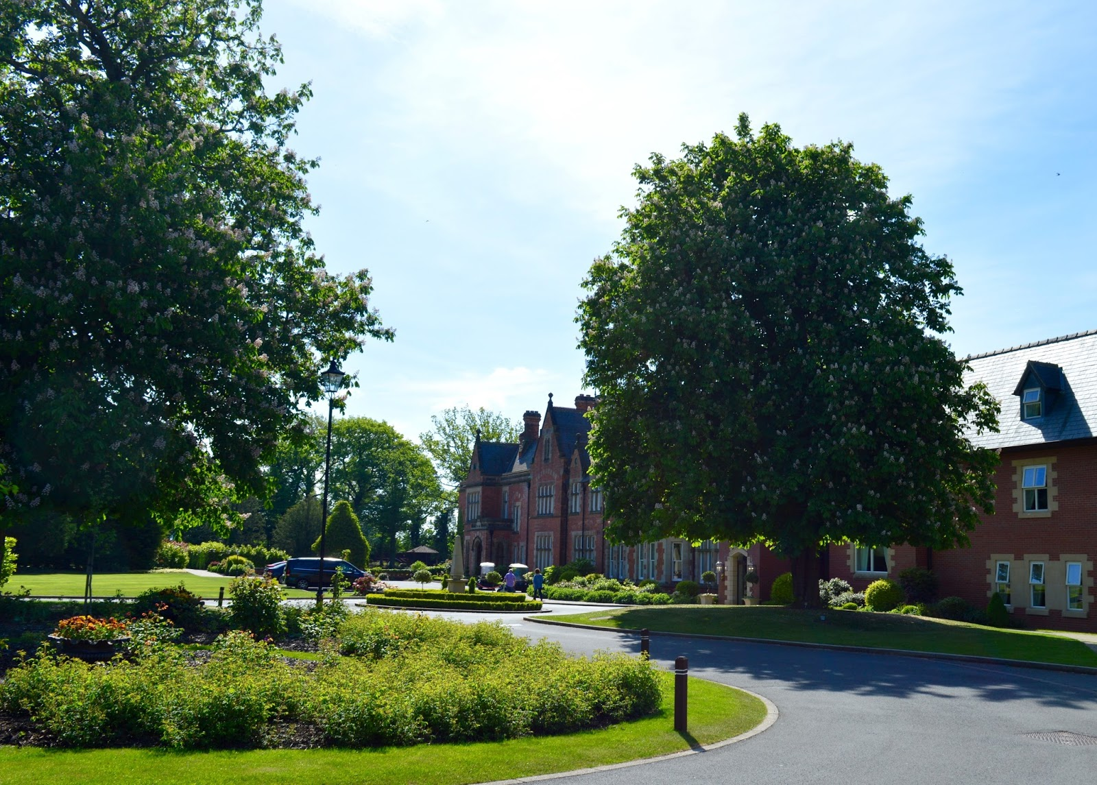 Rockliffe Hall midweek spa break review - exterior
