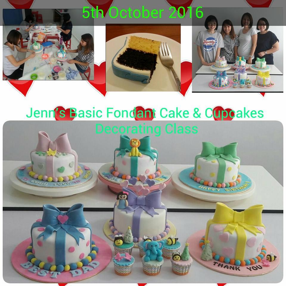 Jenn Cupcakes & Muffins: Jenn s Basic Fondant Cake ...