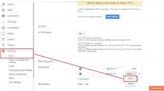 Tutorial Cara Mengganti Email Untuk Blog
